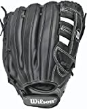 Wilson Onyx G5 Infield Fastpitch Softball Glove, Black/Coal, Left Hand Throw, 11.75-Inch, 11.75-Inch/Black/Coal