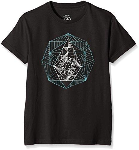 Volcom Tone Stone Basic maglietta, Ragazzo, Tone Stone Basic T-Shirt, Black, M