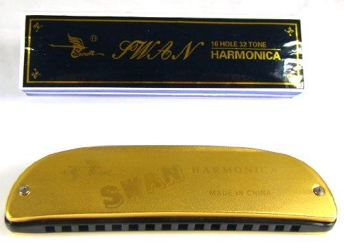 Title: Swan Harmonica Key of C, 16 Hole, 32 Tone; UPC: 736211746849; ASIN: B004DE7H0A; Sales Rank: 49679. Swan Harmonica Key of C, 16 Hole, 32 Tone