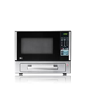Lg Lcsp1110st 1 1 Cu Ft Counter Top Combo Microwave And