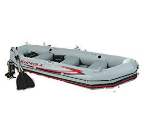 Intex 4 Person Mariner Inflatable Boat Set by Intex