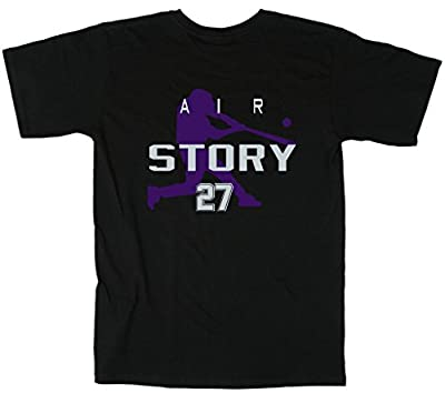 "Trevor Story Colorado Rockies ""Air Story"" T-Shirt"
