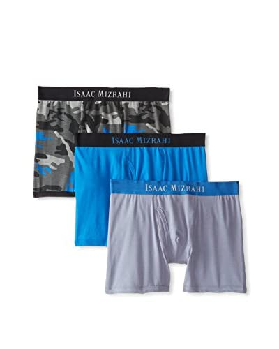 Isaac Mizrahi Men's Boxer Brief - 3 Pack