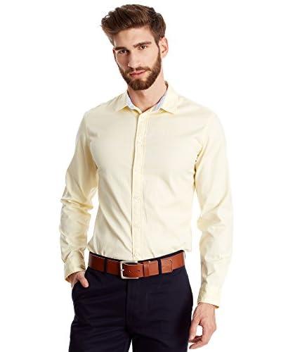 Dockers Camicia Uomo Oxford Lightweight [Giallo]