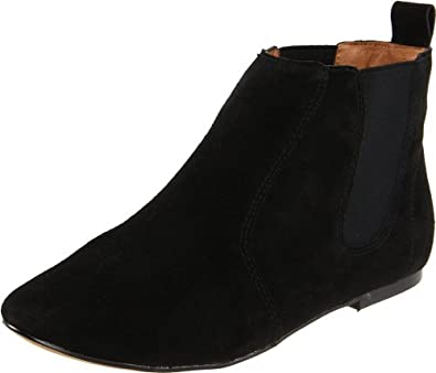 Report Women's Jefferson Ankle Boot,Black,5.5 M US