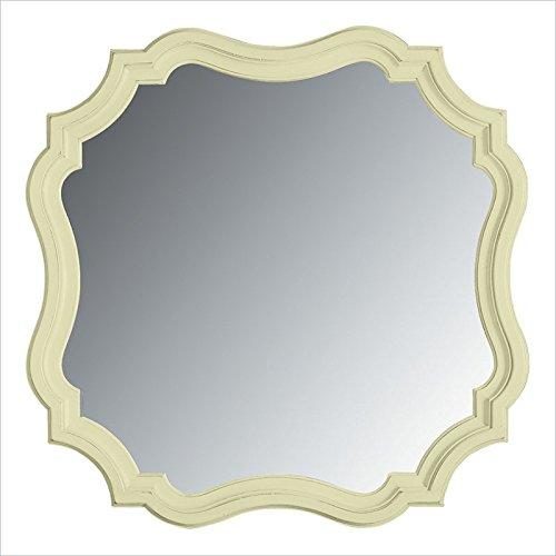 Stanley Furniture Coastal Living Cottage Piecrust Mirror In Sea Grass front-995726