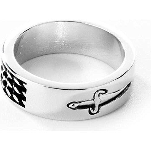 anello uomo gioielli Cesare Paciotti misura 23 trendy cod. JPAN0985B/24