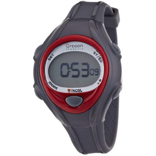 [オレゴン]Oregon 腕時計 エントリーモデル デジタル心拍計 チェストベルト付き レッド SE128 メンズ 【正規輸入品】