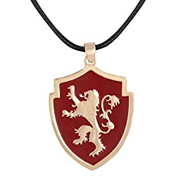 Game of Thrones House Lannister Pendant