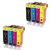インク 【互換インク】 キャノン canon キヤノン BCI-7e 9 4MP 4色セット×2 pixus MP520 MP510 MP500 iP3300 iX5000 カートリッジ プリンターインク 汎用インク インクカートリッジ 純正 汎用