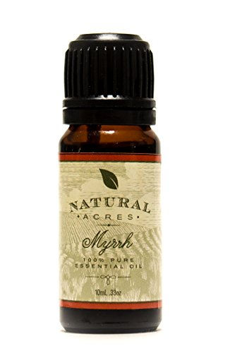 Myrrh Essential Oil - 100% Pure Therapeutic Grade Myrrh Oil by Natural Acres - 10ml