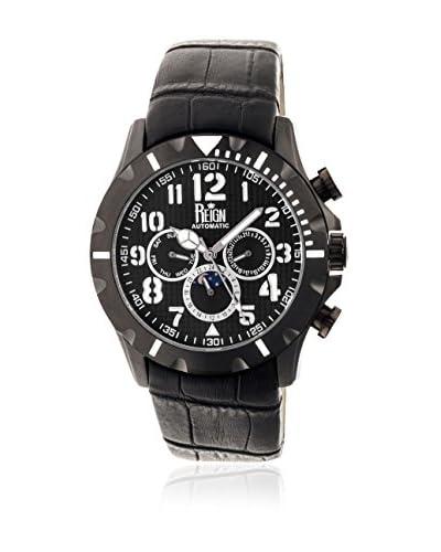 Reign Reloj con movimiento automático japonés Nehru Reirn1003 Negro 45  mm