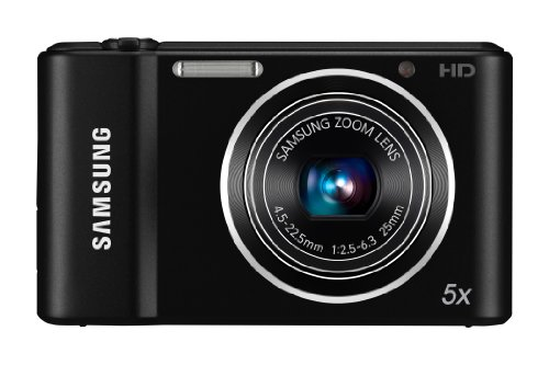 Samsung ST66 Compact Digital Camera - Black (16.1MP, 5x Optical Zoom) 2.7 inch LCD