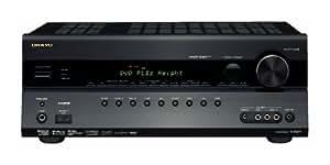 Onkyo TX SR 607 7.2 AV-Receiver (Dolby Pro Logic Iiz, 6x HDMI 1.3a IN, 1080i Upscaling, Dolby TrueHD, DTS HD) schwarz