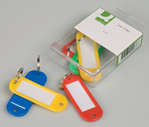 Schlüsselanhänger Q sortiert 6 Stück Schlüsselanhänger