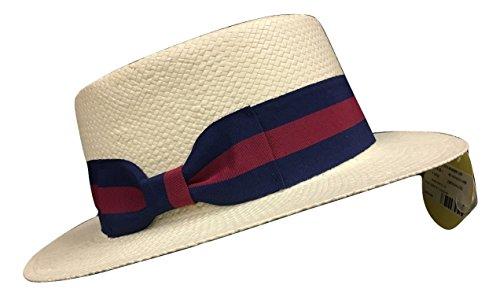 [Boater Hat Skimmer Sailor Election Campaign Barbershop Quartet Straw Hat SM/MD] (Sailor Straw Hat)