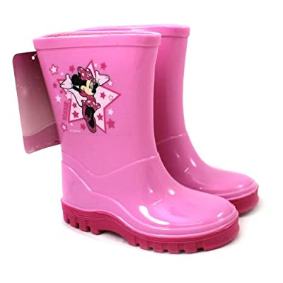 Minnie Mouse Wellies / Wellingtons - From UK Child Shoe Size 6 to 12