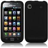 Samsung I9000 Galaxy S Silicone Skin Case Cover Black