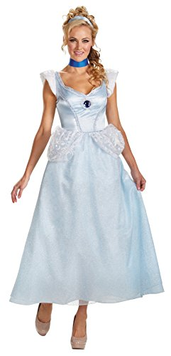 Halloween 2017 Disney Costumes Plus Size & Standard Women's Costume Characters - Women's Costume Characters Women's Princess Cinderella Deluxe Disney Theme Party Halloween Costume, Plus Size
