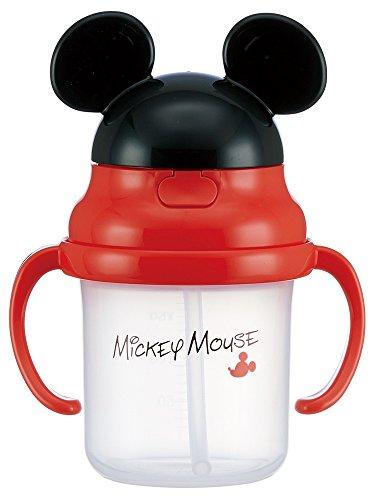 スケーター ストローホッパー 両手 マグカップ コップ ミッキーマウス ディズニー KSH2D