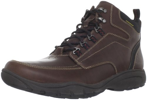 Clarks Men's Outfit Boot,Brown Leather,8 M US