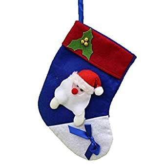 Voberry® Socks Modeling Christmas Gift Candy Bag