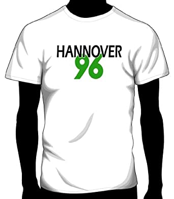 Hannover 96 Basic Logo Tee, Adult Medium - White