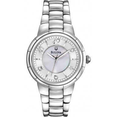 Bulova 96L169 Ladies Diamonds Rosedale Watch