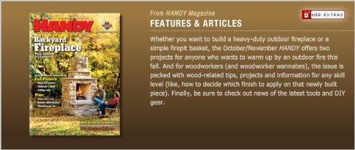 HANDY: Handyman Club of America Magazine (ISSN: 1531-569X) (October/November 2009 -