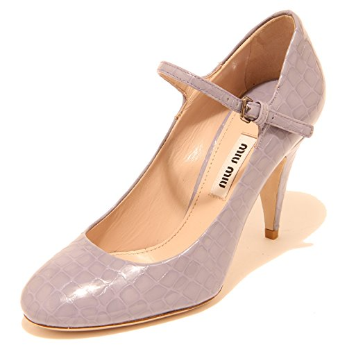 8124I decollete donna mIU MIU cinturino scarpe shoes women [40]