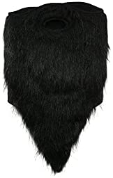 neff Men\'s Bearded Facemask, Black, One Size