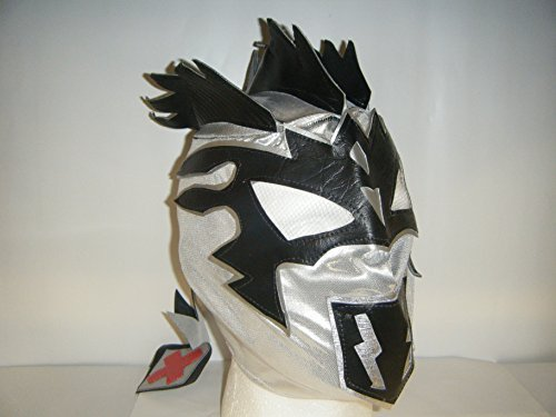 SILVER KALISTO - CHILDRENS WRESTLING ZIP UP MASK
