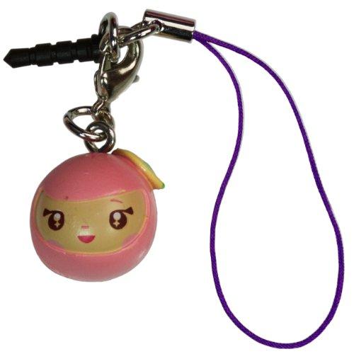 "Ninja Head ~0.75"" Mini-Figure - Tokidoki Frenzies Clip + Phonezie Charm"