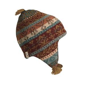 Buy Turtle Fur - Bolivia: Puca Rita, Hand Crafted Alpaca Earflap Hat by Turtle Fur