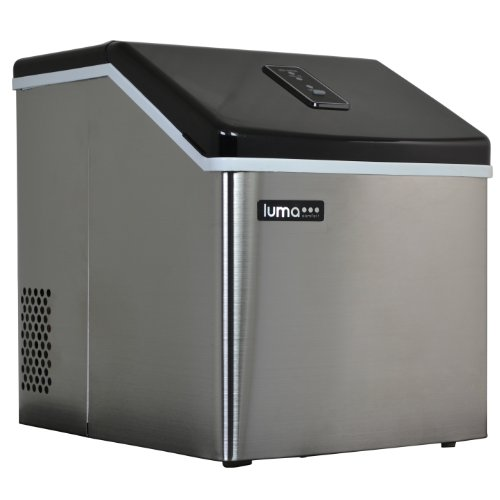 Luma Comfort IM200SS: Portable Ice Maker with Beautiful and Sleek Stainless Steel Finish