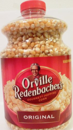 Orville Redenbacher, Gourmet Popping Corn Kernels, Original, 45Oz Jar (Pack Of 3)