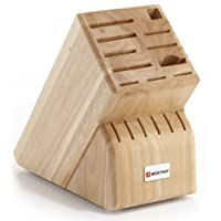 Wusthof 17-Slot Knife Block, Beechwood