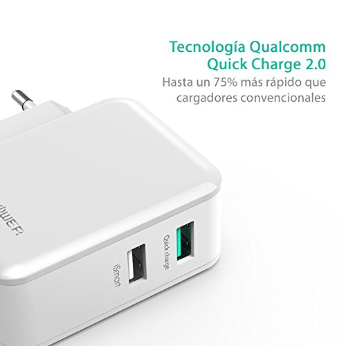 RAVPower-Cargador-USB-Quick-Charge-20-30W