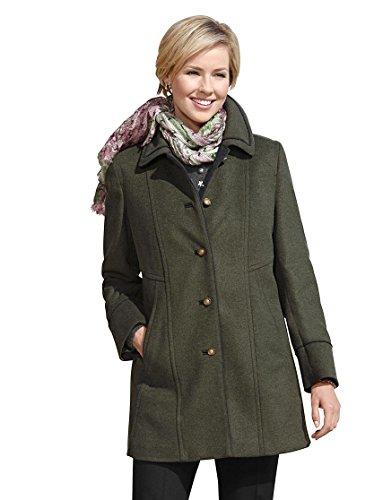 Damen-Loden-Jacke - grün-meliert - Witt Weiden - 322678