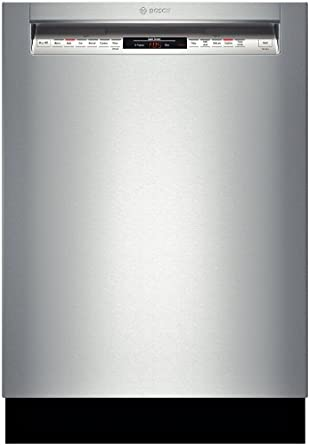 """Bosch SHE68T55UC 800 24"""" Stainless Steel Semi-Integrated Dishwasher - Energy Star"""