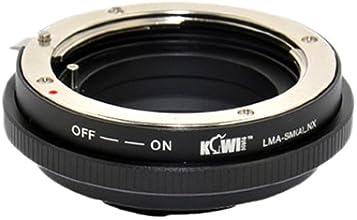 KIWIFOTOS LMA-SMANX Sony A Minolta AF Lens to Samsung NX 100 NX1000 NX-Mount Adapter