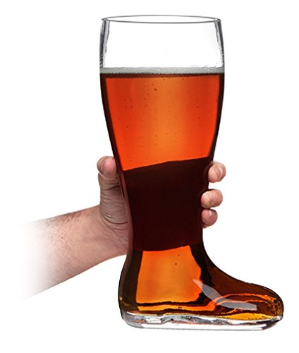 2.7 Liter Das Boot Glass Beer Stein - Huge 92 Ounce Capacity...