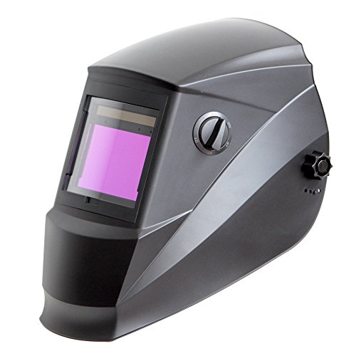 Antra-AH6-660-0000-Solar-Power-Auto-Darkening-Welding-Helmet-with-AntFi-X60-6-Wide-Shade-Range-45-99-13-with-Grinding-Feature-Extra-lens-covers-Good-for-Arc-Tig-Mig-Plasma