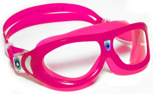 Aqua Sphere Seal Kids Clear Goggle - Pink/Clear Lens