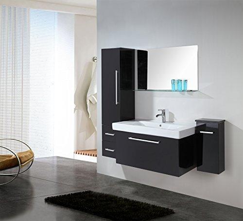 Mobile bagno easy arredo bagno mobile nuovo lavandino specchio miscelatore completo moderno - Lavandino bagno moderno ...