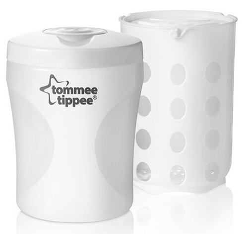 Tommee Tippee Closer to Nature BPA-free Travel Steam Steriliser