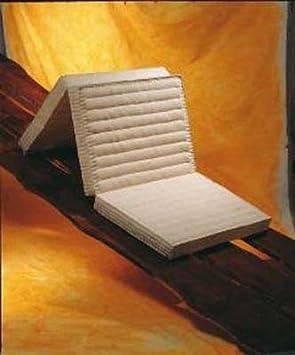 Klappbare Matratze Kapok 100 x 200 cm