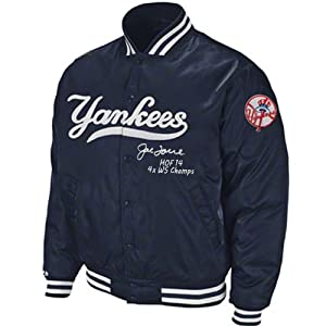 Joe Torre Signed Mitchell & Ness New York Yankees On Field Jacket Inscribed HOF...