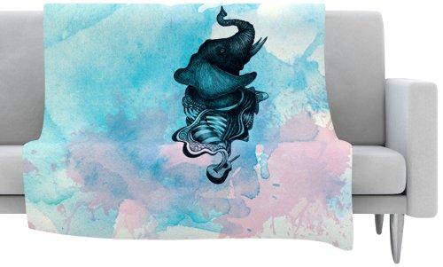 Guitar Fleece Blanket front-723698