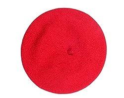 D.V. SAHARAN & SON Unisex Beret Red